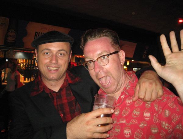 Turnups & Tantrums: Red-faced rockabilly